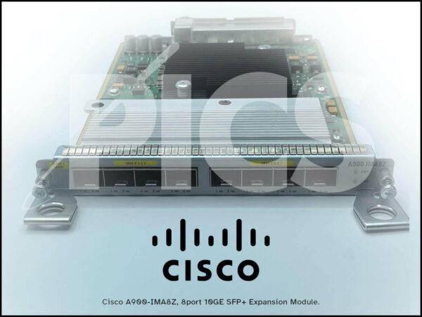 Cisco A900-IMA8Z, 8port 10GE SFP+ Expansion Module.