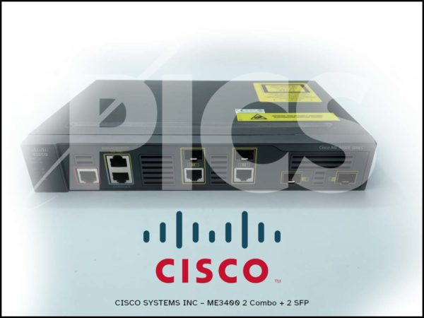 Cisco ME-3400EG-2CS-A ME3400 2 Combo + 2 SFP
