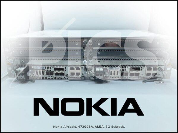 Nokia Airscale, 473098A, AMIA, 5G Subrack.